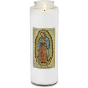 773 Our Lady of Guadalupe Candle