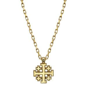 720 Jerusalem Cross Necklace