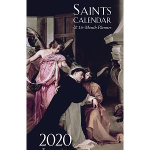 2020 Saints Calendar & 16-month Planner