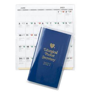 2021 Liturgical Pocket Secretary Calendar