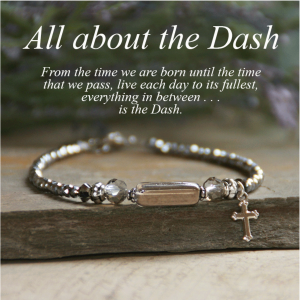ACM142 It's All in The Dash Bracelet