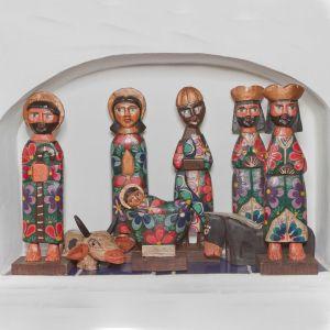 "Handmade Gautemala Nativity Set 8"""