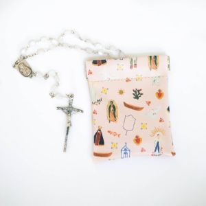 MS29 Marian Rosary Pouch