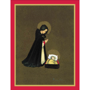 Mary & Baby Christmas Cards