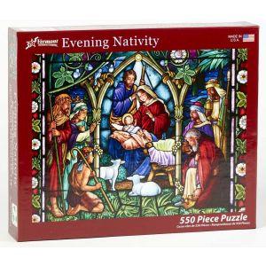 Evening Nativity Puzzle 550pcs