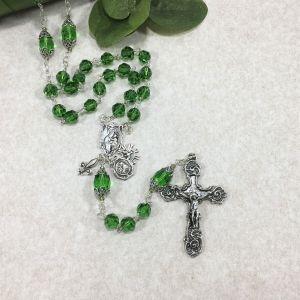 Swarovski Crystal Fern Rosary