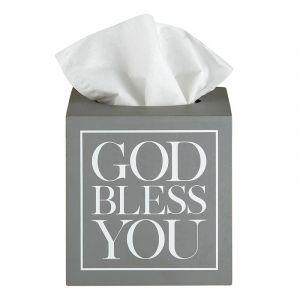 751 God Bless You Tissue Box