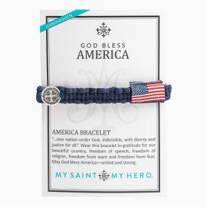 God Bless America Bracelet for Men