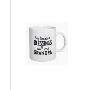My Greatest Blessings Call Me Grandpa Mug
