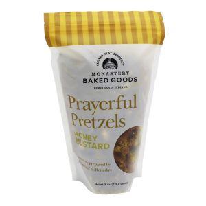 Honey Mustard Prayerful Pretzels
