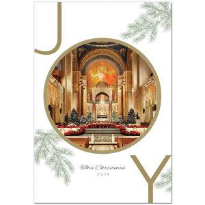 Shrine Upper Church Interior Christmas Cards