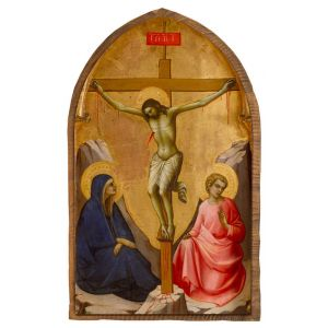 The Crucifixion by Lorenzo Monaco