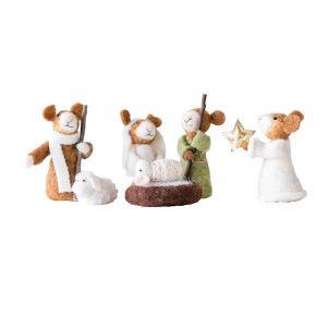 Little Mouse 6pc Nativity Set