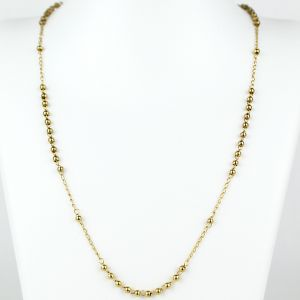 Rosary Necklace Goldplated