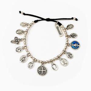 Glory Saints and Angels charm Bracelet