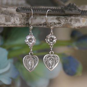 Miraculous Heart Earrings