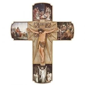 The Life of Christ Crucifix