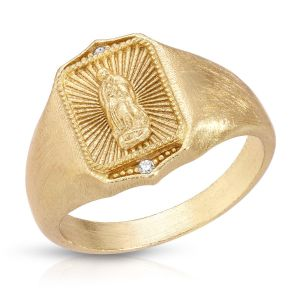 Our Lady of Guadalupe w/Crystal Ring