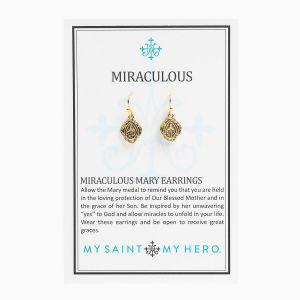 Miraulous Mary Earrings