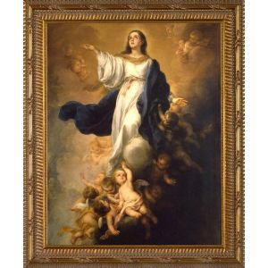 Murillo Assumption of the Virgin 8x10