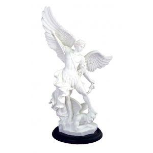Saint Michael Statue on Base