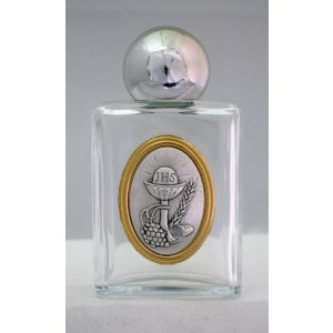 Communion Glass Holy Water Bottle