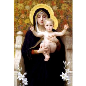 Madonna of the Lilies Christmas Cards