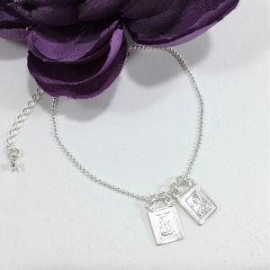 Scapular Silver Bracelet