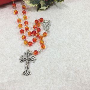 Swarovski Crystal Flame Rosary