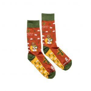Saint Dymphna Socks