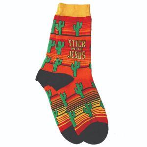 Stick with Jesus Socks