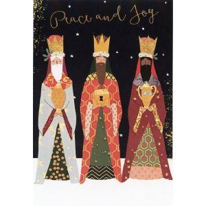Three Bearded Kings by Murray Christmas Card