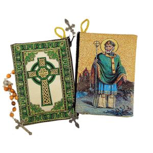 Saint Patrick Tapestry Rosary Pouch