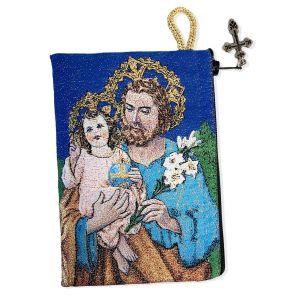 St. Joseph Rosary Pouch