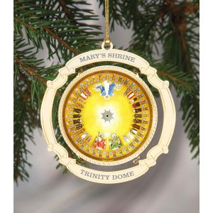 ACM218 Commemorative Trinity Dome Ornament
