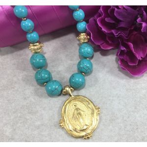Miraculous Turquoise Necklace