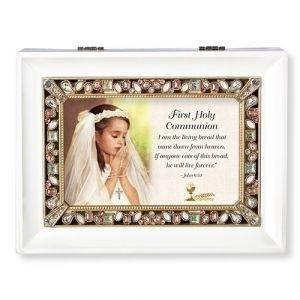 First Communion Music Box-Girls