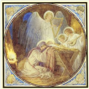 Nativity Scene Christmas Cards 6x6