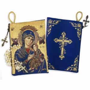 Our Lady of Perpetual Help Rosary Pouch
