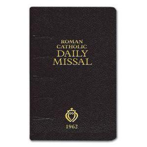 1962 Daily Roman Missal (Black)