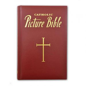 Catholic Picture Bible Burgund