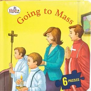 Going to Mass Puzzle Book