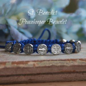 St. Benedict Peacekeepers Bracelet