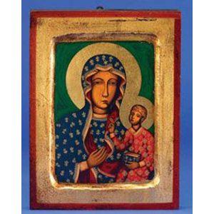 """Our Lady of Czestochowa Icon 7x5"""""""