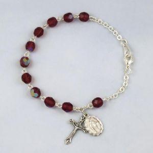 Birthstone Rosary Bracelet