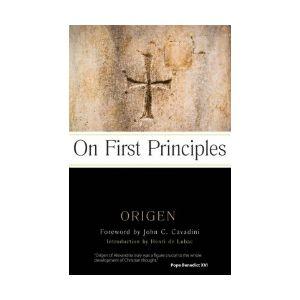 Origen - On First Principles