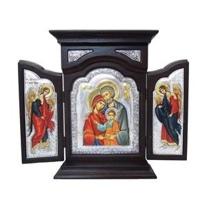 Holy Family Triptych 8x14