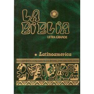 Biblia Latinoamerica Letra Grande con Index