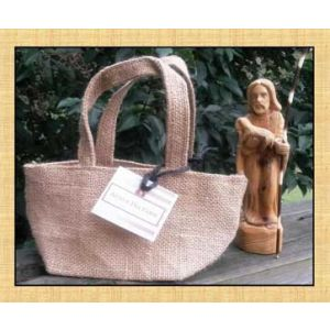 Burlap Mini Gift Bag