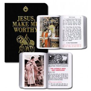 Jesus Make Me Worthy Missal (Black)